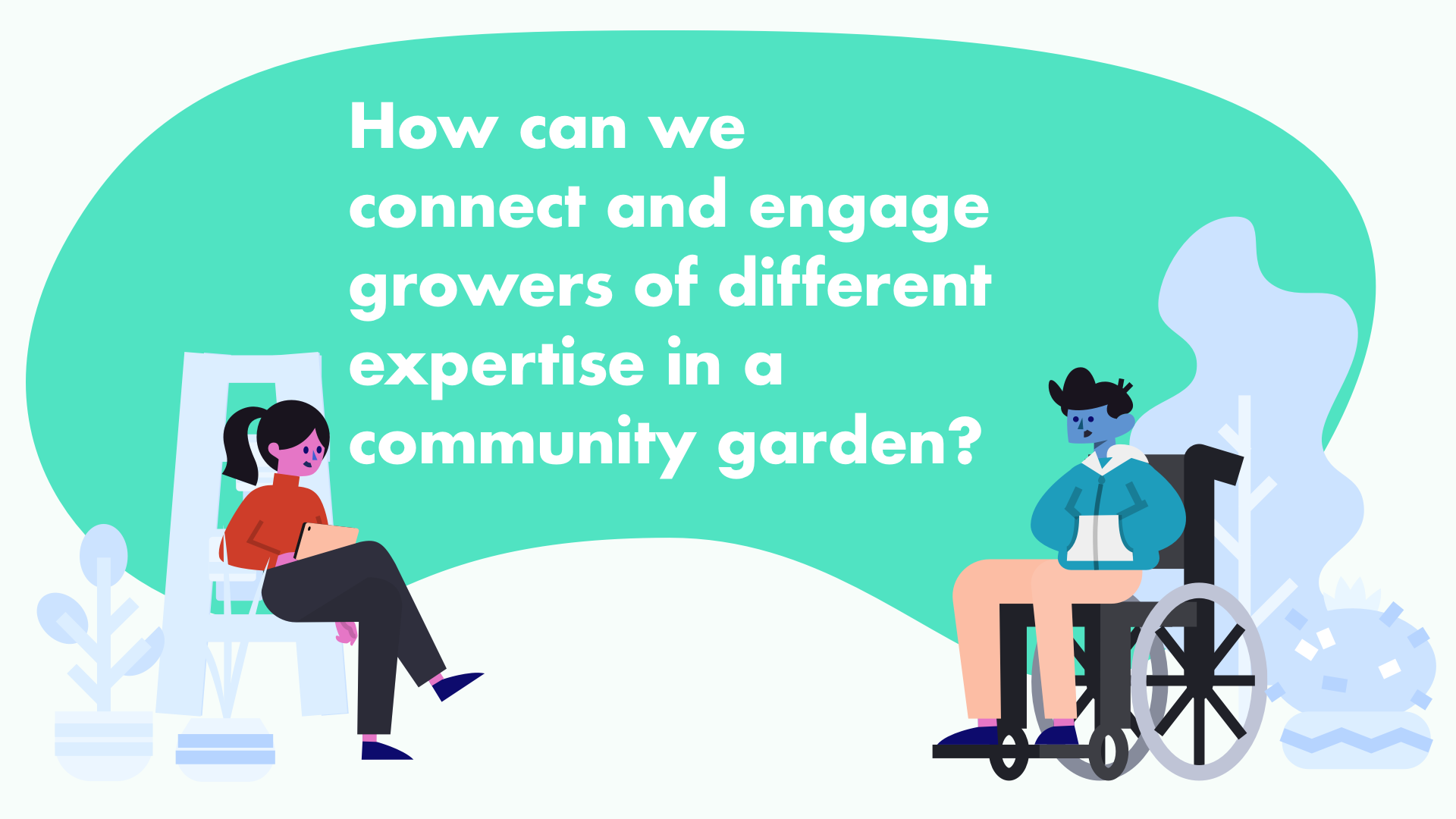 Technology in a Community Garden